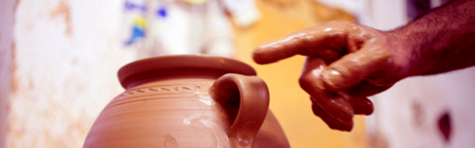 The process of making a ceramic object